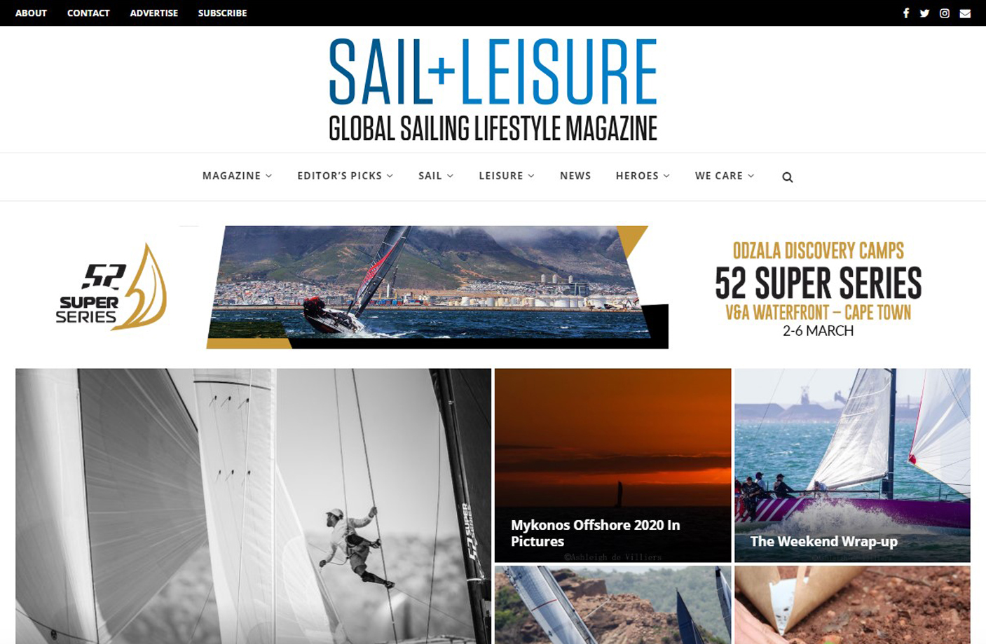 Sail And Leisure Magazine